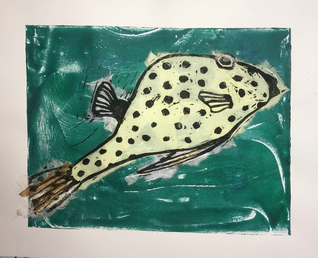 Chine Colle Trunkfish