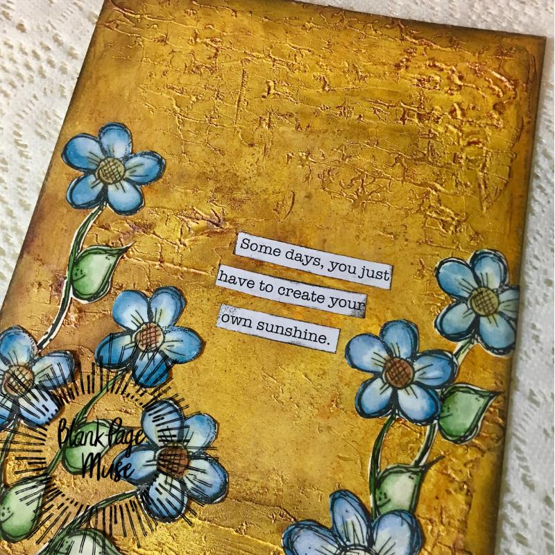 Adding Dimension in Art Journaling