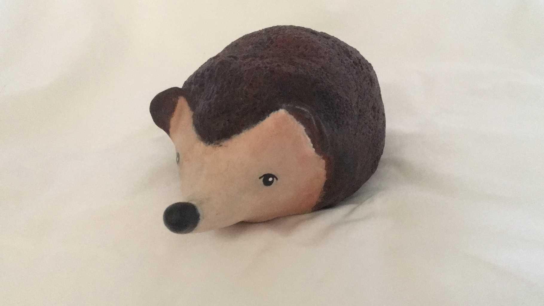 Creative Paperclay Hedgehog