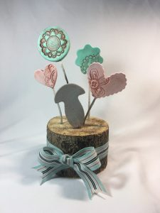 Beautiful Garden made with Creative Paperclay®