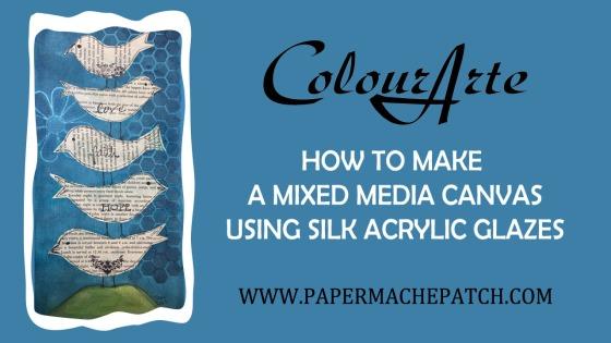 Silk Acrylic Glazes