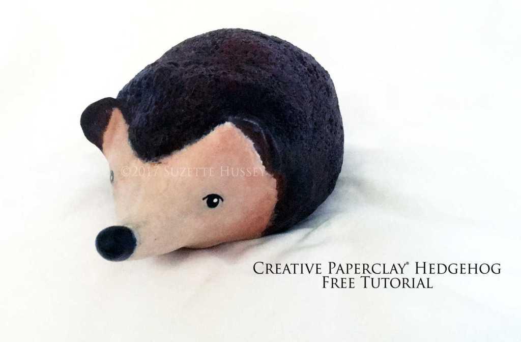 Creative Paperclay ® Hedgehog