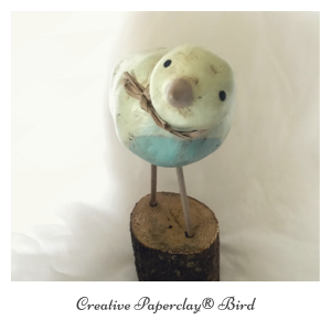 Making a bird with Creative Paperclay®
