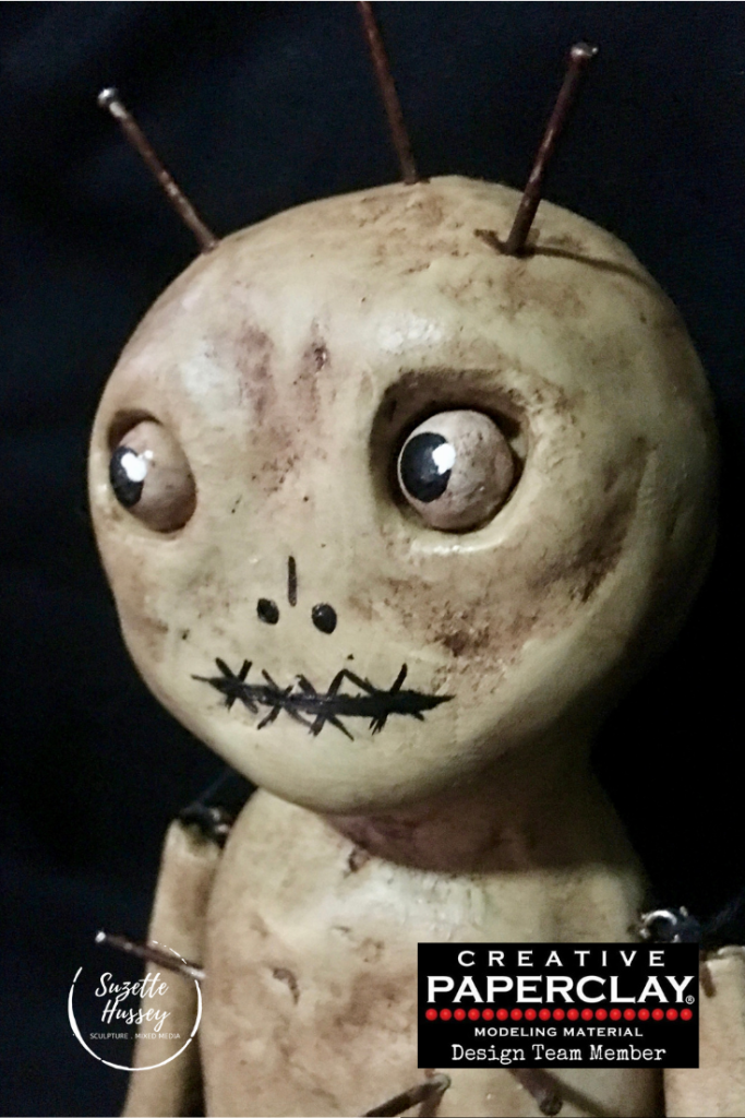A Creative Paperclay® Voodoo Doll