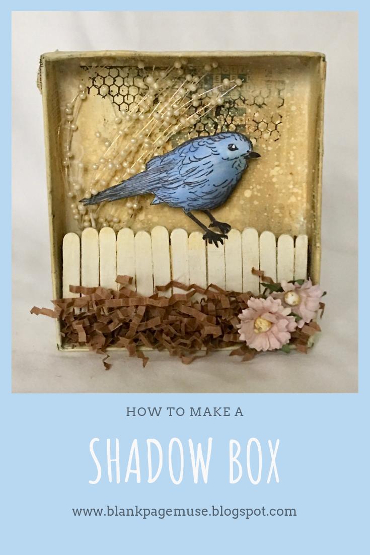 A Birdie Shadow Box