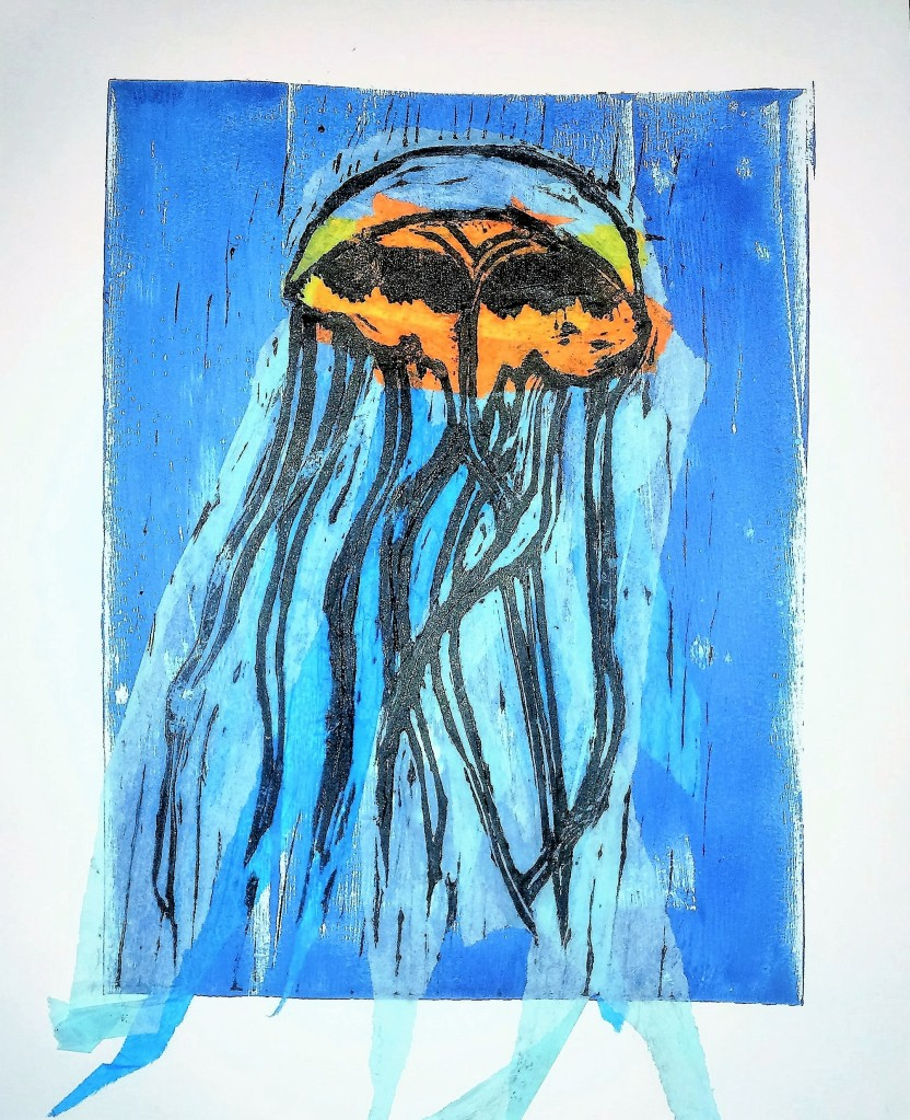 Chine Colle Jelly Fish