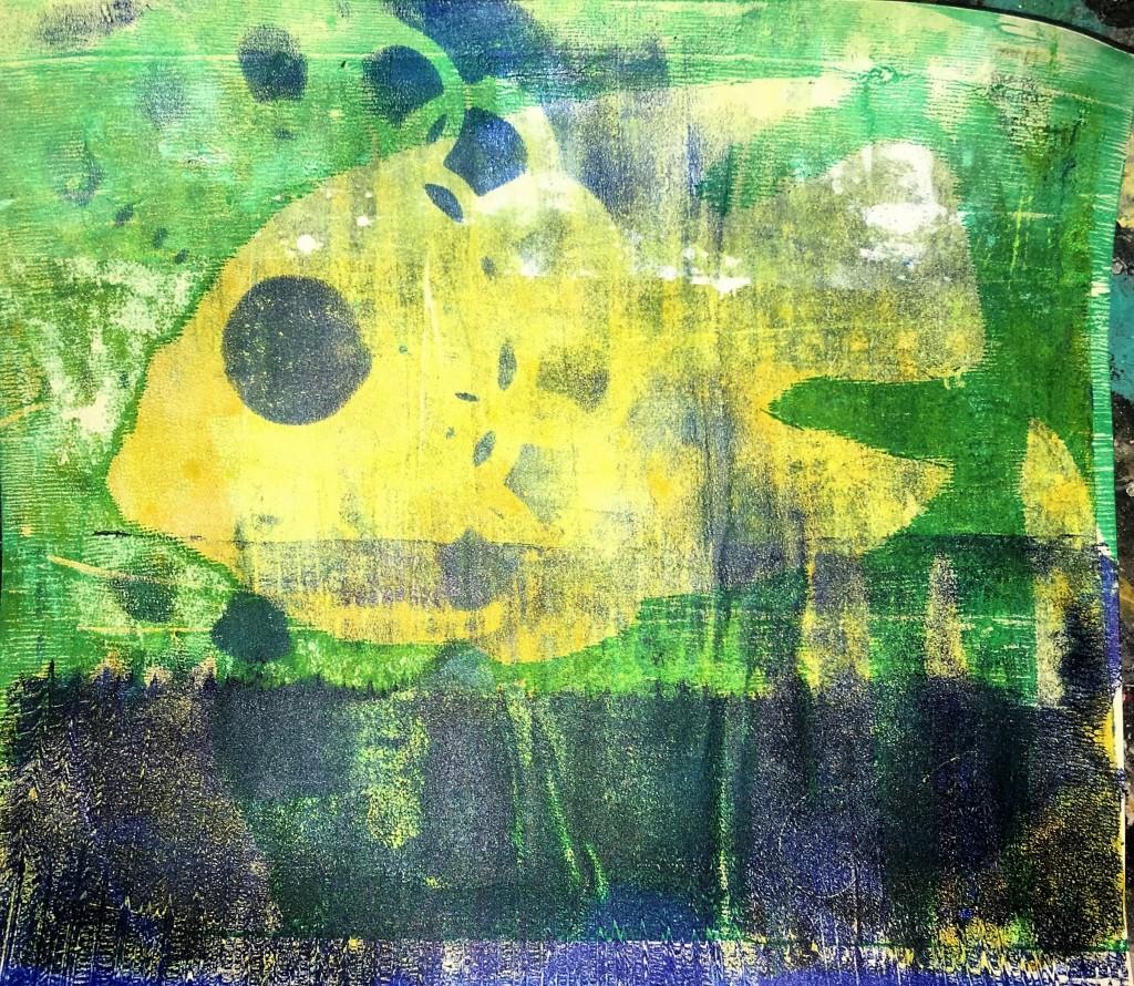 Angelfish combination print